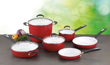 Top 5 Best And Tested Ceramic Cookware Sets Reviews Of 2019